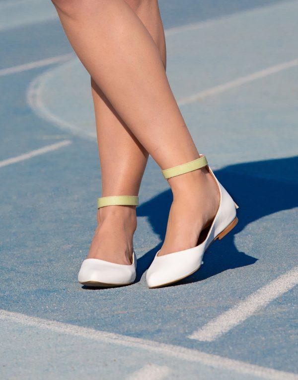 Ballerine a punta con cinturino - limited edition -486 -Mauro Leone