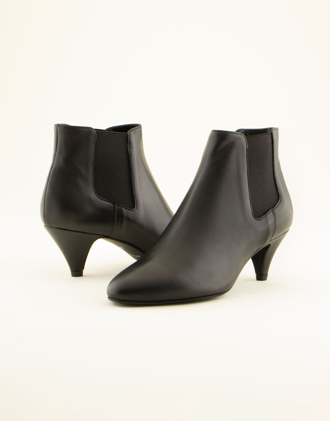 Leather ankle boots with 5cm heel – Art