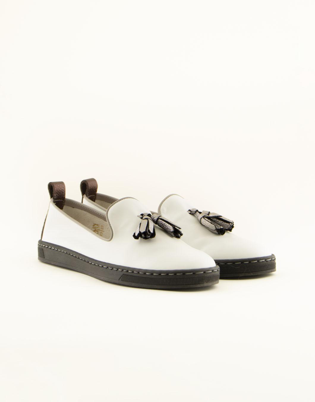 Sneakers in pelle - MAURO LEONE